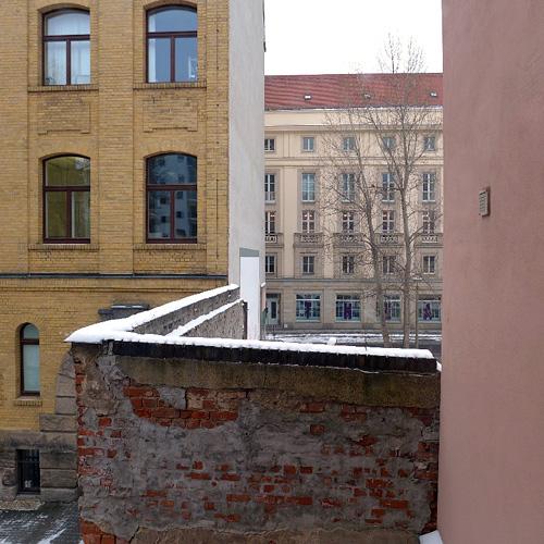 Leipzig, Central-Theater vor dem Neu-Schnee, 22.02.2013