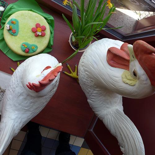 MAÎTRE – Pâtisserie; Deko-Keramik-Gockel, 23.03.2013