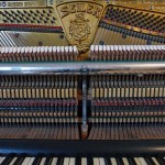 LEIPZIG, Frontal View of Piano, mit Mechanik, 10.12.2013