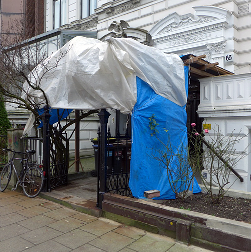 Bismarckstraße .... entzauberte Kulissenfragmente,16.12.2013