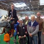 LEIPZIG, das Messeteam vom Bauernhof und die Managerin, 23.02.2014
