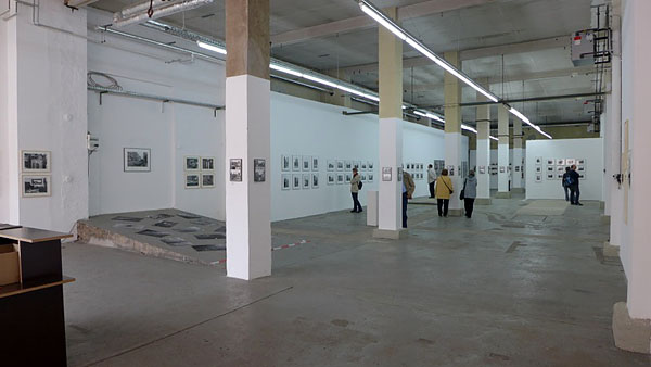 Exhibition, looking north-west, 12.04.2014