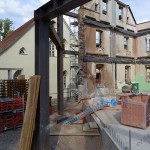 Lutherstadt Eisleben, Lutherarchiv, Innen, Detail, looking north-east, 03.06.2014