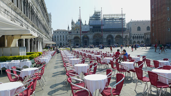 VENEDIG, Piazza San Marco, 07.06.2014