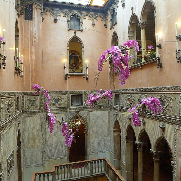Venezia, inside old hotel, 08.06.2014