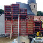 Lutherstadt Eisleben, Lutherarchiv, inside Detail, looking south, 30.08.2014