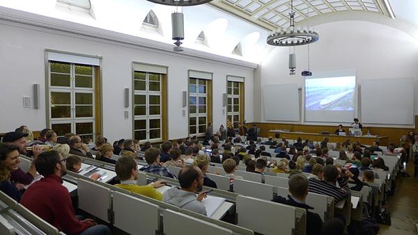 LEIPZIG, Audimax-HTWK, Camilo Vergara - Lecture, 28.10.2014