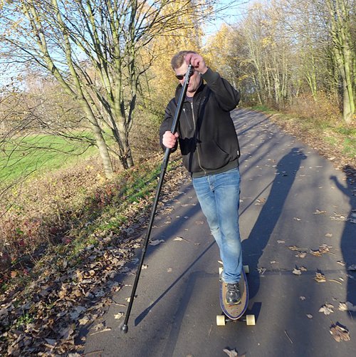 Land-paddling, Zauberauge staunt sonntags, 23.11.2014