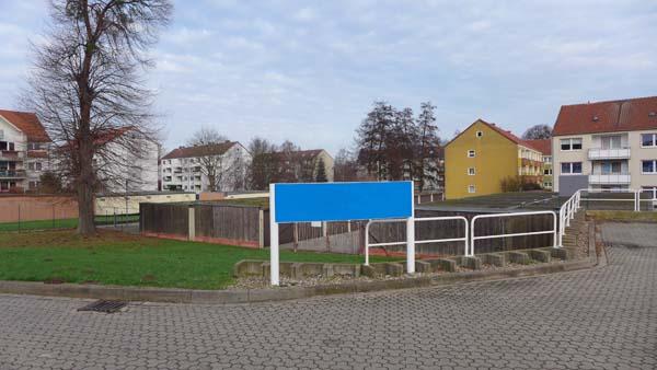 NIEDERSACHSEN-ANHALT: geduldete Modulbauten, looking east, 03.01.2015