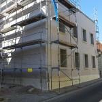 Lutherstadt Eisleben, Lutherarchiv, das Haus, Fassade, Detail, looking north-west, 15.04.2015