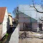 Lutherstadt Eisleben, Lutherarchiv, Blick in den Schöpfungsgarten, 15.04.2015