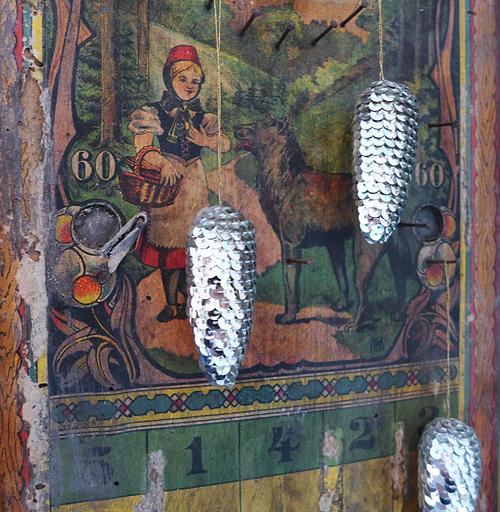 Wunderkammer: Lüster & Schrein  (Ausschnitt)  @ Inka Perl, 18.04.2015