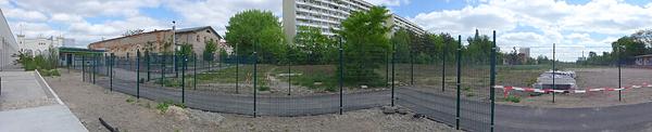 LEIPZIG, backyard, Bayerischer Bahnhof, looking east,  LEICA-PANO-VIEW, 14.05.2015