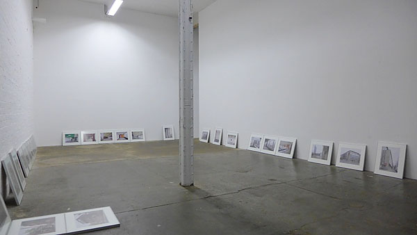 "exposition ""views of a modern post"" @ spinnerei archiv massiv, 10.09.2015"