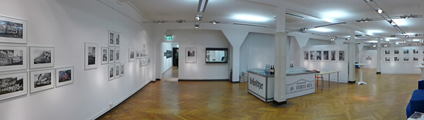EXHIBITION PLAGWITZ 2, Panorama, looking north-east, 15.10.2015