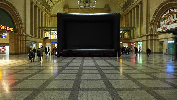 LEIPZIG, airscreen in der Osthalle, DOKFILM'15, 26.10.2015