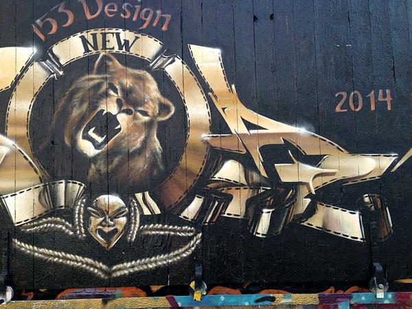 SCRAFITTYPLAGWITZ, Ecke Gieszerstr., 12.04.2014