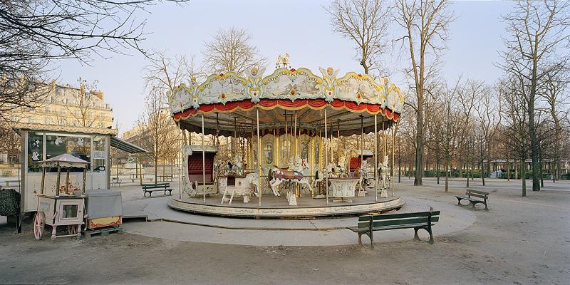 PARIS, Merry-Go-Round, Jardin des Tuileries, 2003