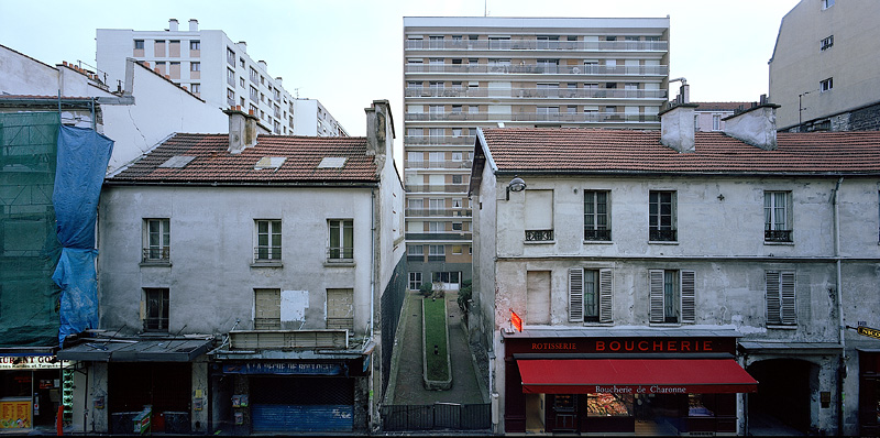 PARIS, CROSSTOWN, looking east, 2003