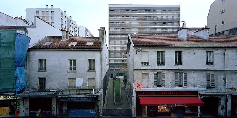 PARIS, CROSSTOWN, looking east, 2003