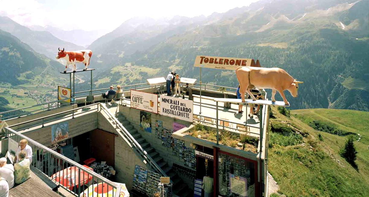 Gotthardpass (Passo del San Gottardo), 17.08.2000