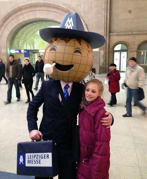 Leipzig Hauptbahnhof, Ein Connaisseur auf der Jagd, 14.12.2013