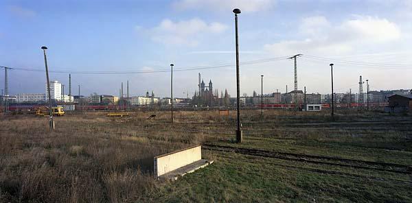 MAGDEBURG, railroad city, November 2004